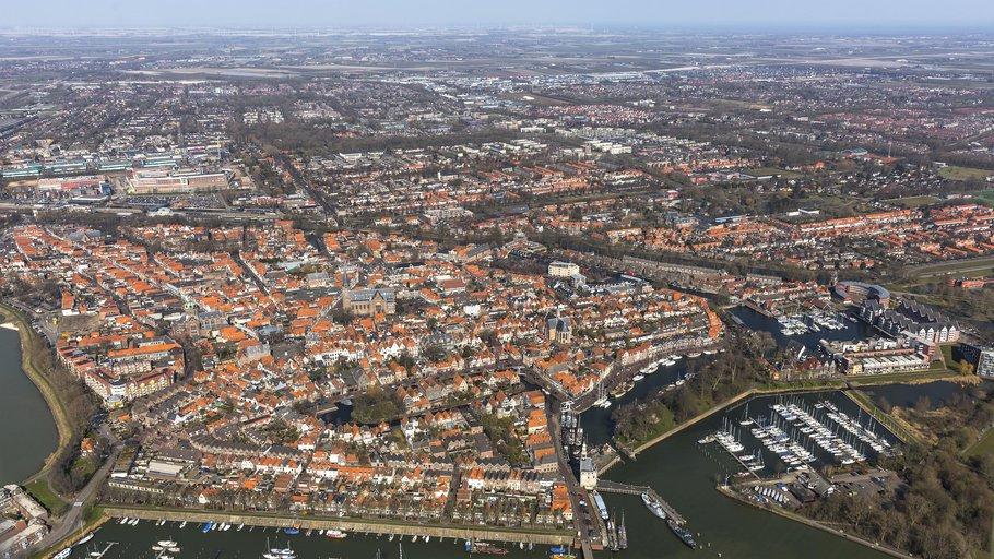 Luchtfoto Hoorn