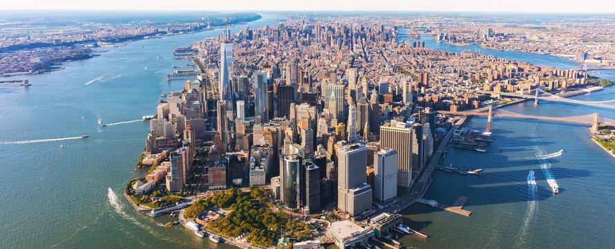 Manhattan luchtfoto