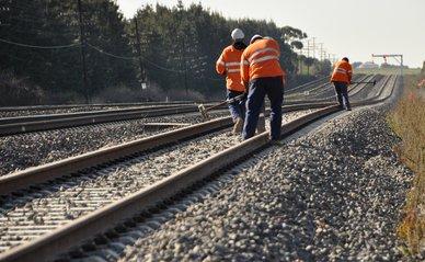 Werkzaamheden aan het spoor