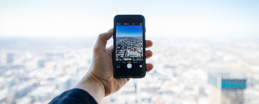 Smartphone smart city