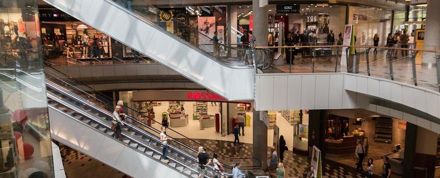 Shopping mall - winkelcentrum