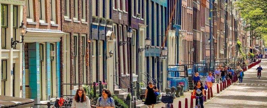 Amsterdam straat djedj