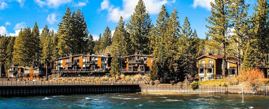 Lake Tahoe huizen Pixabay
