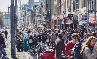 Amsterdam massa tourisme pixabay license