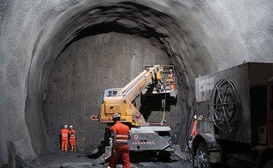 ondergronds tunnel