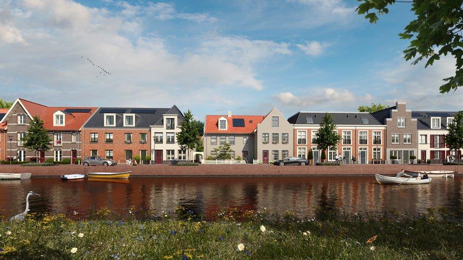 In Weespersluis realiseren BPD en samenwerkingspartners een nieuw 'woonlandschap': integrale gebiedsontwikkeling combineert wonen, water en natuur