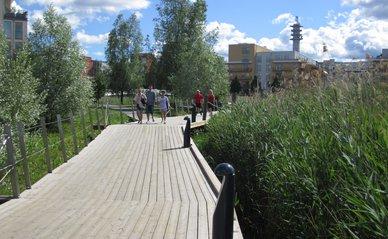 """""""Wetland, promenade"""" (CC BY-SA 2.0) by La Citta Vita"""