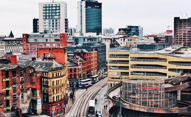 Manchester -> Photo by William McCue on Unsplash