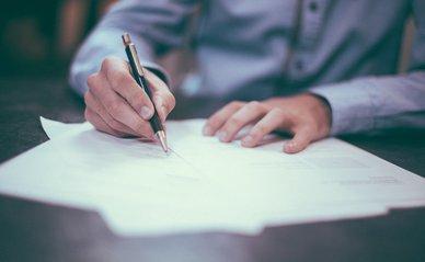 wet papier contract