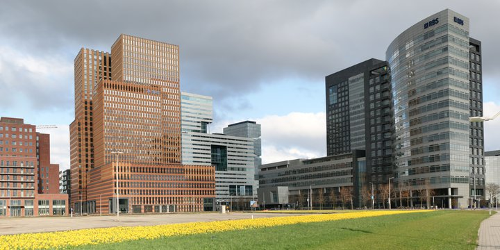 Zuidas panorama | Wikimedia Commons / Arthena / CC BY-SA 3.0