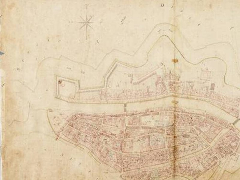 Historische tekening stadskroon - VanWonen